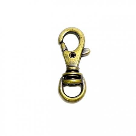 Mosquetão ouro velho VII (2 unidades)- MO007
