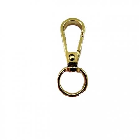 Mosquetão dourado I - 100 peças - MD002 ATACADO