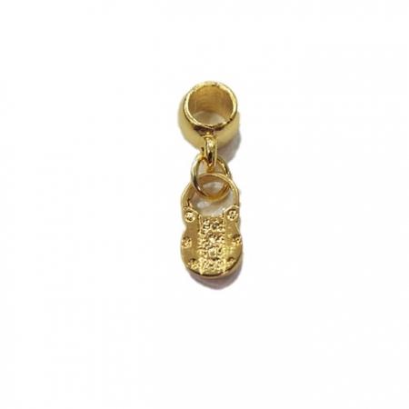 Berloque Dourado Cadeado BED003