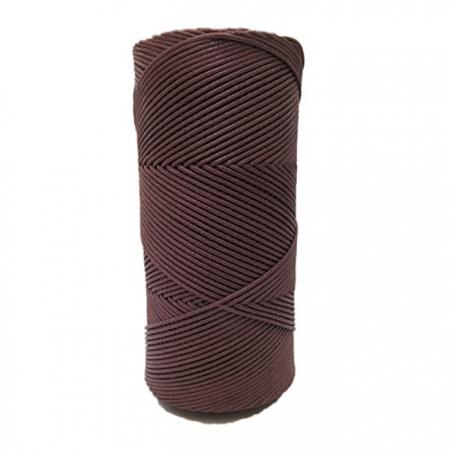 Cordão encerado fino chocolate (2080)- CDF013 ATACADO