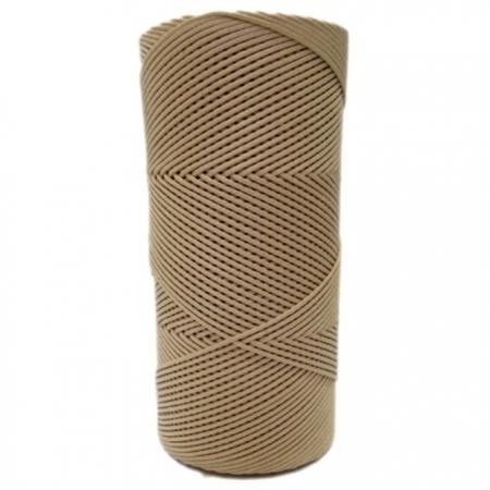 Cordão encerado fino mel (0082) 10mts- CDF018