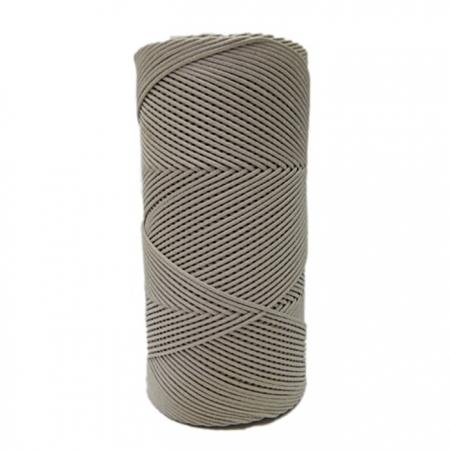Cordão encerado fino bege (0072)10mts- CDF019