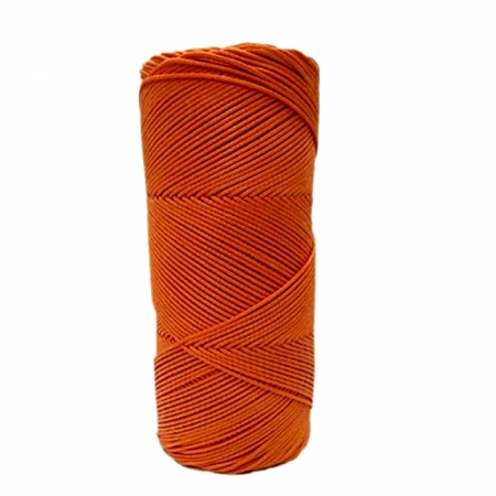 Cordão encerado fino Laranja 10 mts- CDF027