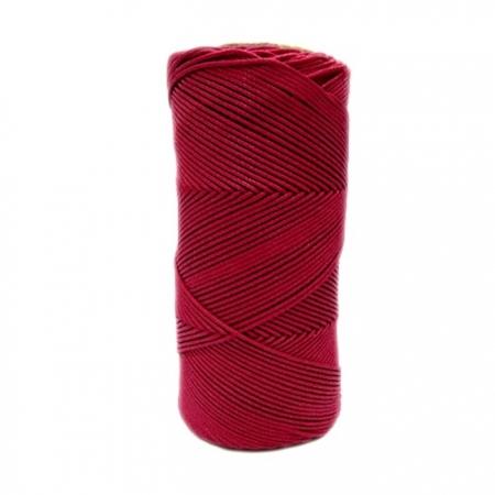 Cordão encerado fino rubi (7717) 10mts- CDF032