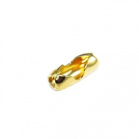 Fecho Canoa Dourado Nº 2.5 (1000unid.)- FCD002 ATACADO