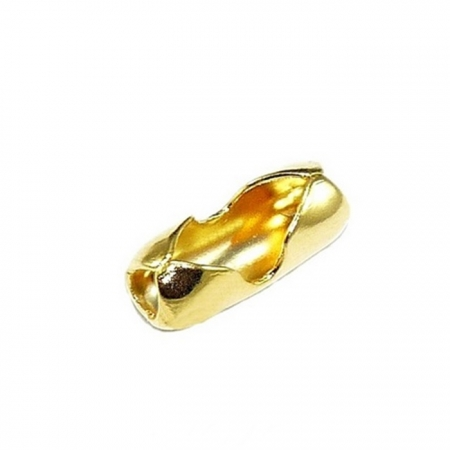 Fecho Canoa Dourado Nº 3.0 (20 unid.)- FCD003