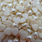 Meia pérola de coração Nº 12 (200 unid.)- MPC002