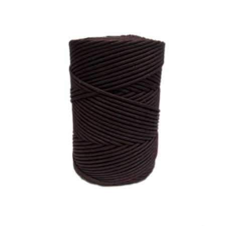 Cordão encerado grosso café (2081) - CDG007 ATACADO