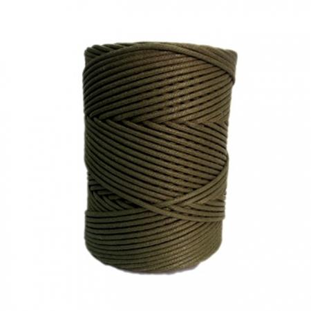 Cordão encerado grosso musgo (5953)- CDG030 ATACADO