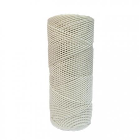 Cordão c/ nylon branco- CDN002 ATACADO