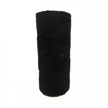 Cordão c/ nylon preto- CDN011 ATACADO