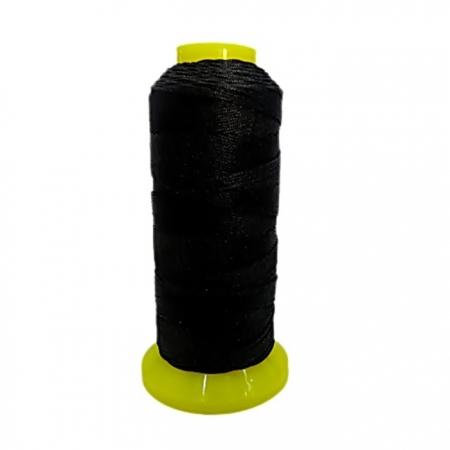 Fio de seda fino preto (10mts)- FS002