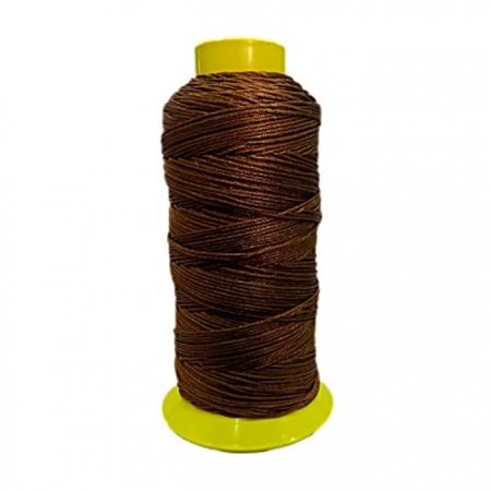 Fio de seda fino marrom (10mts)- FS013