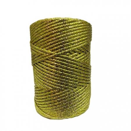 Lurex dourado 1.0/1.5/2.0 - LX001 ATACADO