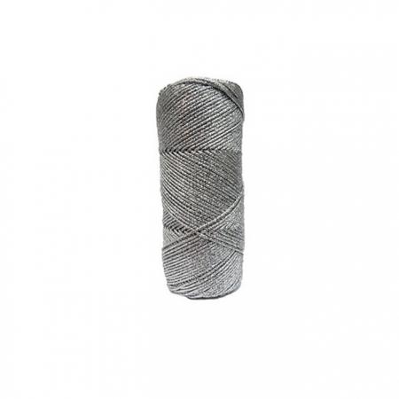 Lurex prata fino- LX004 ATACADO