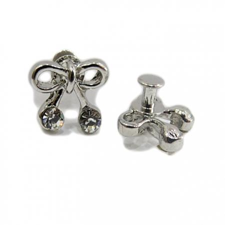 Piercing Lacinho níquel (Par)- PIN013