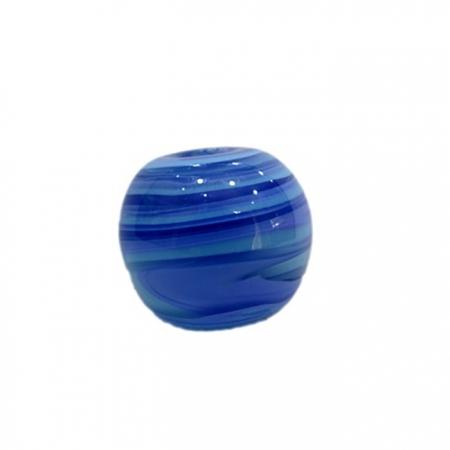 Bola de murano GG royal/ turquesa- MU008