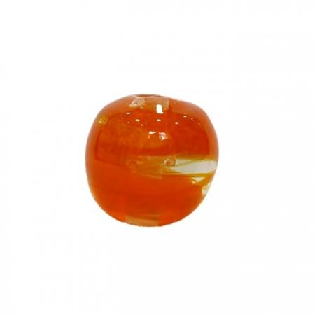 Bola de murano GG laranja- MU016