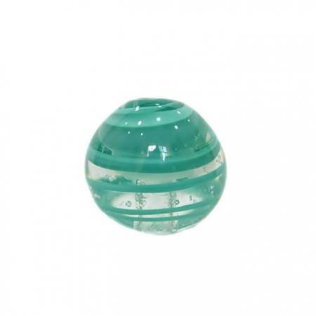 Bola de murano GG verde piscina- MU025