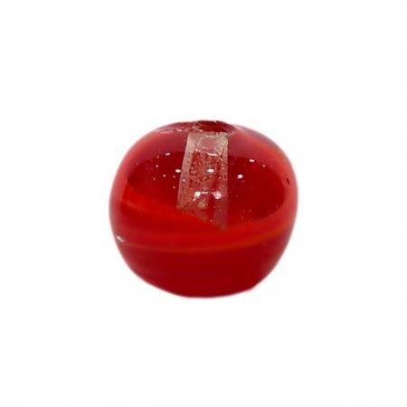 Bola de murano GG vermelho- MU025