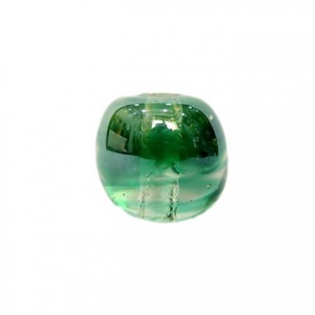 Bola de murano GG verde irisado- MU034