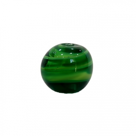 Bola de murano GG verde- MU036