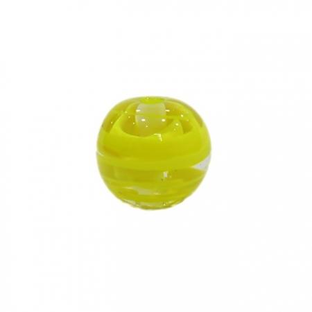 Bola de murano G amarelo- MU072