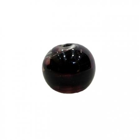 Bola de murano M preto- MU093