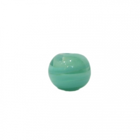 Bola de murano P verde piscina (10 unidades)- MU136