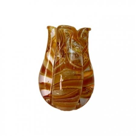 Tulipa de murano ambar- MU147