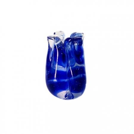 Tulipa de murano azulão- MU148