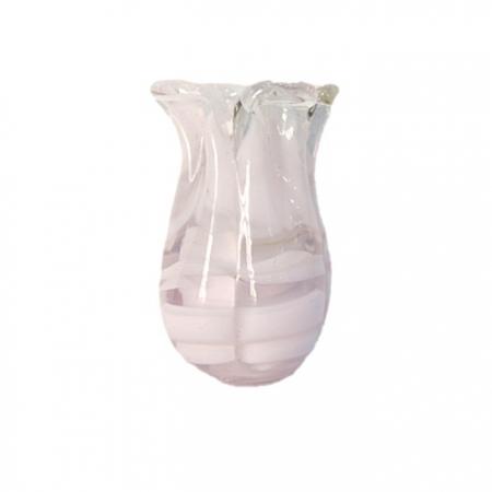 Tulipa de murano rosa- MU158