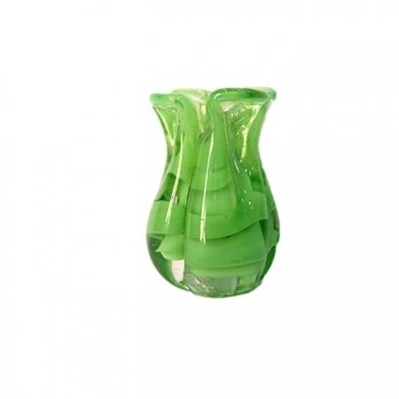 Tulipa de murano verde claro- MU165