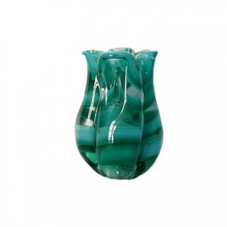 Tulipa de murano verde- MU168