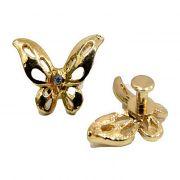Piercing Borboleta I dourada (Par)- PID003