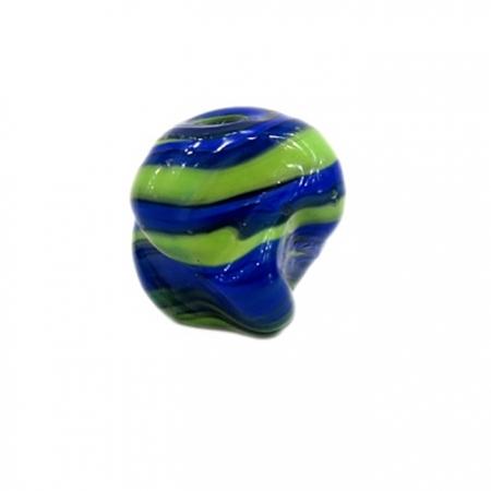 Meteoro de murano GG azul/ verde- MU186