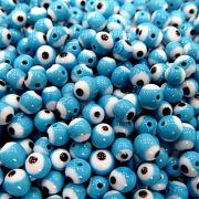Olho grego azul turquesa Nº 08(1.000 unidades)- OG005 ATACADO