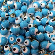 Olho grego pingente azul turquesa (20 unidades)- OGP003