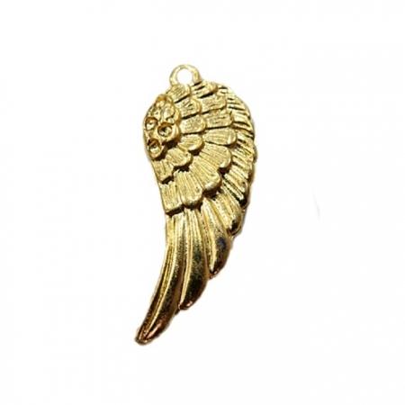 Pingente de Asa médio dourado- PTD003