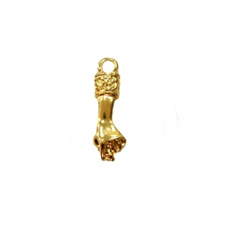 Pingente Figa dourada- PTD011