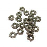 Entremeio níquel florzinha M (10 unid.)- ETN024