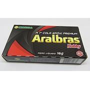 Cola Araldite C001 Hobby 10 min (Aralbras) - CL003