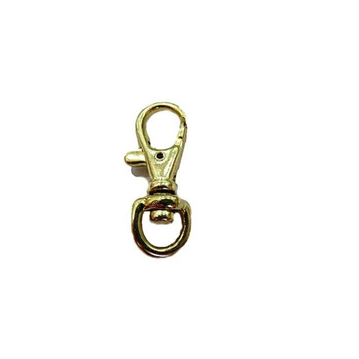 Mosquetão Dourado IV - MD004  ATACADO 100 Pçs