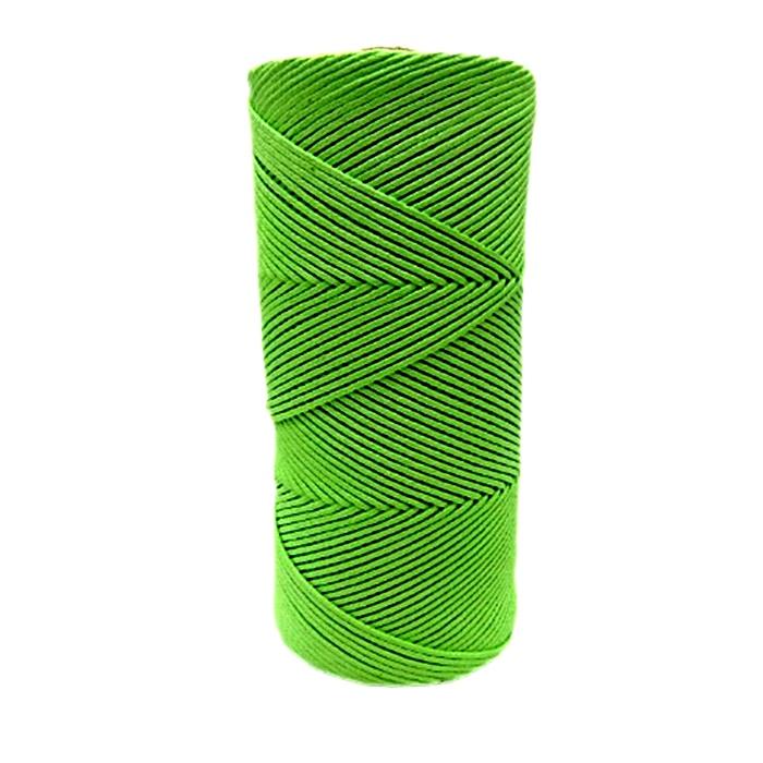 Cordão encerado fino pistache (5957)- CDF005 ATACADO