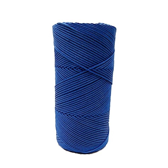 Cordão encerado fino azul royal (4645) 100mts- CDF007 ATACADO