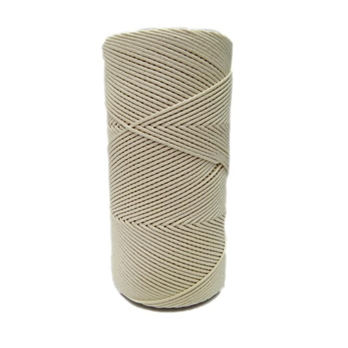 Cordão encerado fino cru (0071)- CDF020 ATACADO