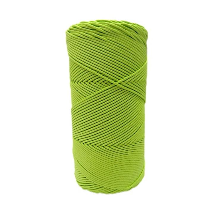 Cordão encerado fino amarelo citrico (3320) 10mts- CDF021