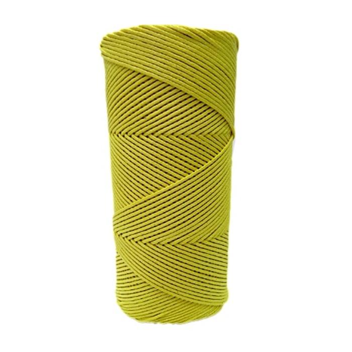 Cordão encerado fino amarelo  (3315) 10mts- CDF023