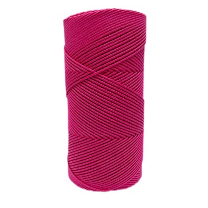 Cordão encerado fino rosa medio (7721) 10mts- CDF033