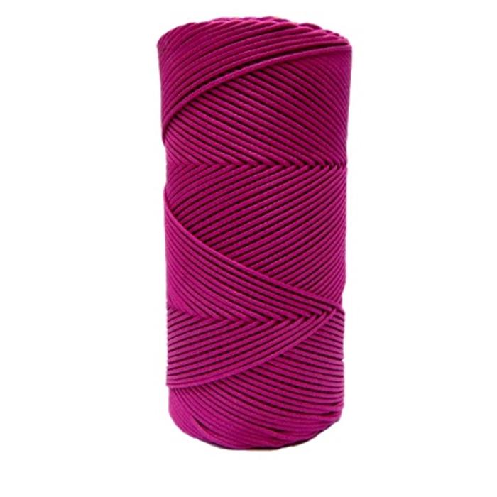Cordão encerado fino pink (7725) 10mts- CDF034